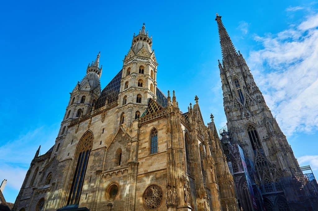 St. Stephen's Cathedral, Vienna. Don't miss it if you are traveling from Prague to Vienna for a day.