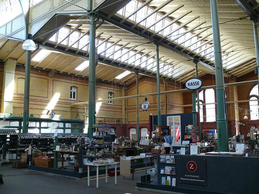 Arminius Markthalle - end your day trip from Prague to Berlin here