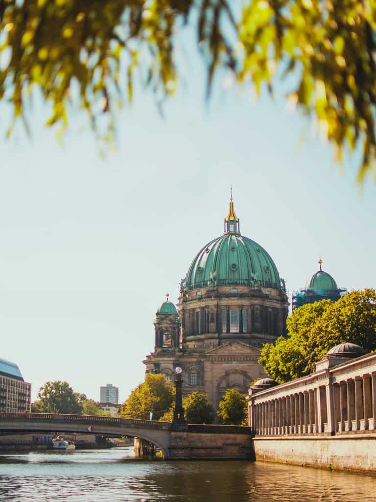 Berlin Cathedral - you can't miss it if you're traveling all the way from Prague