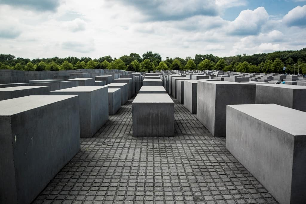 Holocaust memorial - a must on your trip from Prague to Berlin