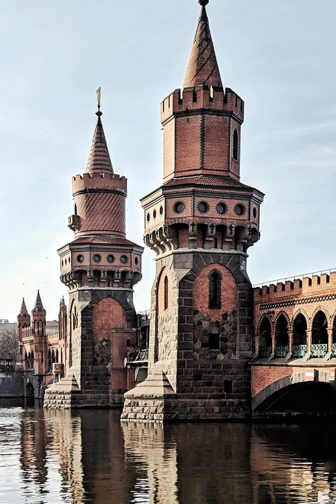Oberbaum Bridge - nothing like this can be seen in Prague